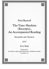The Time Machine (Excerpts), an Accompanied Reading, for ensemble and narrator
