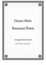 Swansea Town, arranged for instruments in four parts - Score and Parts